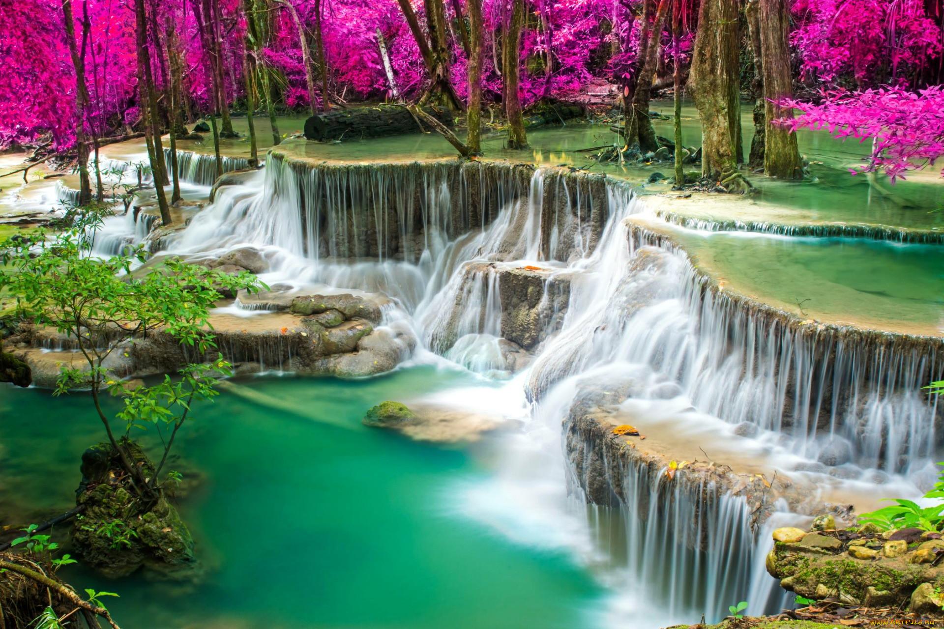 какие фотообои лучше по феншую водопады природа мир театр